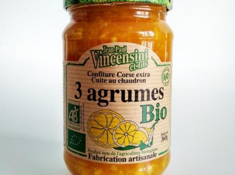 Jean-Paul Vincensini et Fils - Confiture de 3 Agrumes Bio