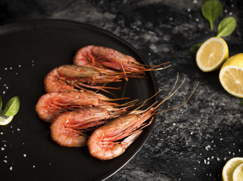 Qwehli - Crevettes Sauvages Gambero Rosso - Calibre M - 1 Kg - DLUO COURTE