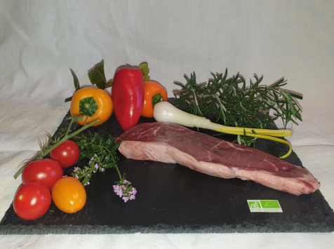 La Ferme du Montet - [SURGELE] Steak de Boeuf BIO  - 140 g