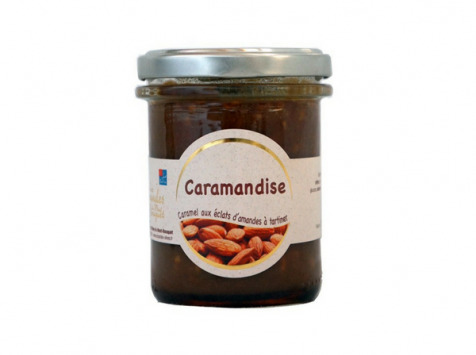 Les amandes et olives du Mont Bouquet - Caramandise 200 g - Pâte à tartiner caramel et amandes