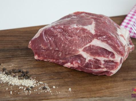 La Ferme de Cintrat - Rôti de porc plein air dans l'échine
