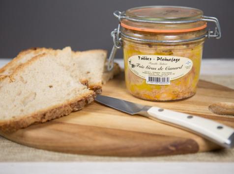 Ferme de Pleinefage - Foie Gras de Canard entier cuit 350 g (5 ou 6 personnes)
