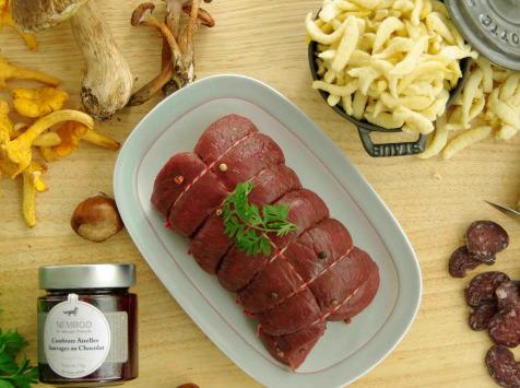 Nemrod - Colis de Gibier Le dîner du chasseur - apéro et diner pour 4 personnes