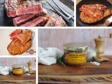 La Ferme Des Gourmets -  Panier Repas Semaine pour 2 personnes 100% Génisse Limousine