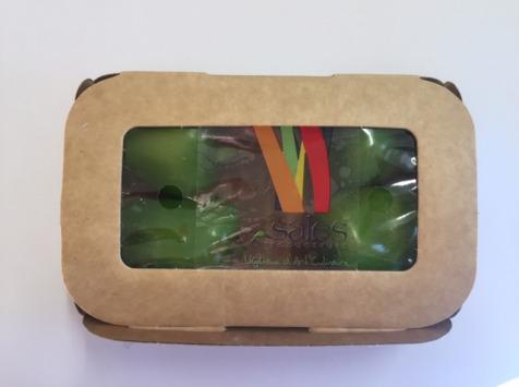 Maison Sales - Végétaux d'Art Culinaire - 21- Mini Poivron Vert - 4 Pièces