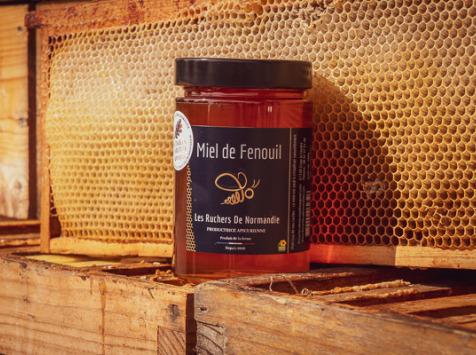 Les Ruchers de Normandie - Miel de Fenouil 500g