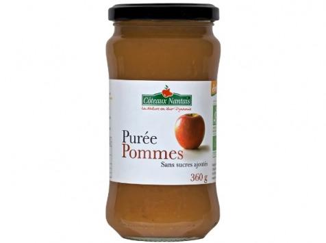 Les Côteaux Nantais - Purée Pommes 360g Demeter