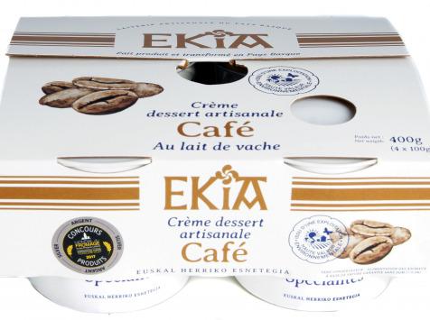 BASTIDARRA - Crème Dessert Café 4*100gr