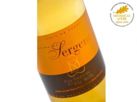 Domaine Sergent - Pacherenc Du Vic-bilh Doux 2020 - Lot de 3 bouteilles