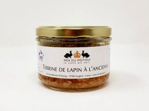 SCA des éleveurs d'Orylag - Terrine de Lapin à l'Ancienne