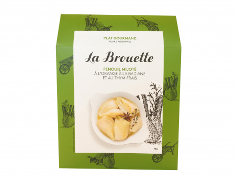 La Brouette - Pour 2 Pers. - Fenouil Mijoté À L'orange À La Badiane Et Au Thym Frais - Convient aux végétariens
