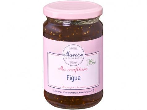 Muroise et Compagnie - Confiture de Figue Bio - 350 gr