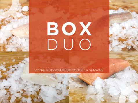 Qwehli - Box Duo Merlan - Saumon - Eglefin - Maquereaux - Cabillaud