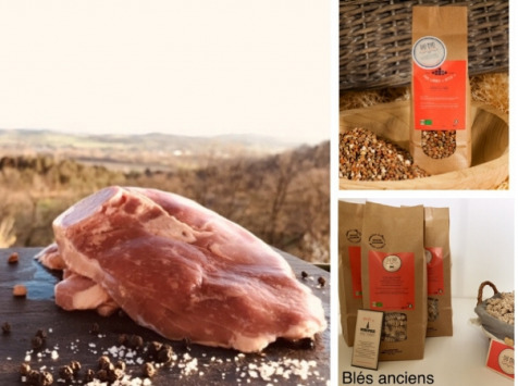 Du bio dans l'assiette - [Précommande] Offre Pâques : Gigot Tranché Agneau Fermier Bio 1kg + Accompagnements Offerts
