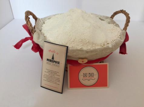 Du bio dans l'assiette - Farine Blé T80 Bio 1kg