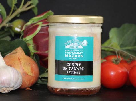 Fontalbat Mazars - Confit de canard bocal 2 cuisses