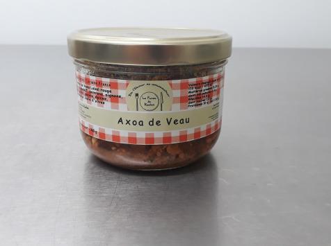 La ferme de Rustan - Axoa De Veau D'aveyron Et Du Ségala 360 G