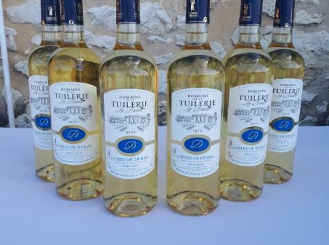 Domaine de la Tuilerie - AOP Côtes De Duras - Coffret De 6 x 75 cl Blanc Moelleux  2016