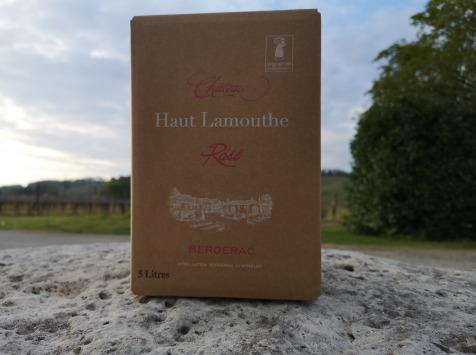 Château Haut-Lamouthe - Bib Bergerac Rosé AOC - 5 Litres