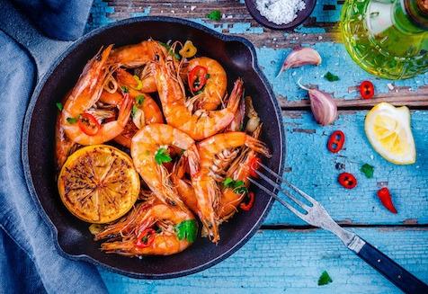 Ô'Poisson - Crevettes Cuites - Les 300g