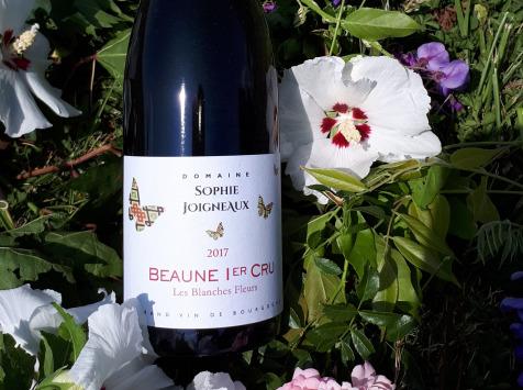 """Domaine Sophie Joigneaux - AOP Beaune 1er Cru """"les Blanches Fleurs"""" 75 Cl Millésime 2018"""