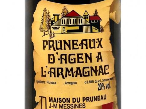 Maison du Pruneau - Pruneaux d'Agen IGP à l'Armagnac • 20° - 1l