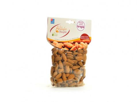Les amandes et olives du Mont Bouquet - Amandes Ferragnés 200 g