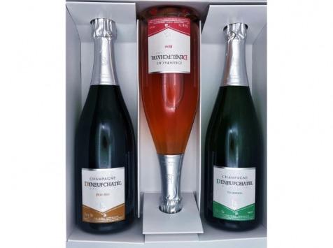 Champagne Deneufchatel - Coffret Plaisir