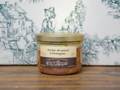 Ferme des Hautes Granges - Terrine de Canard à l'Armagnac - 370 g