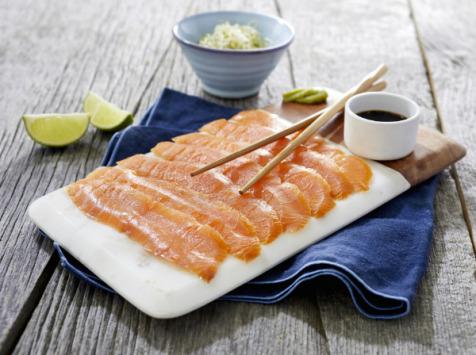 ÏOD - Sashimi de saumon fumé 8 pièces