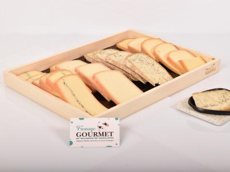 Fromage Gourmet - Assortiment De Raclette Pour 10 Personnes