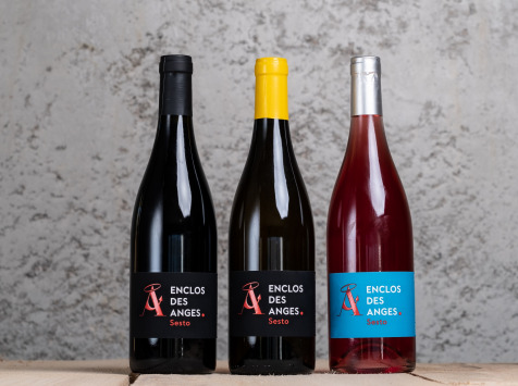 Enclos des Anges - Coffret AOP Calvi 2018 - 3 bouteilles