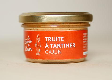 La Ferme du Ciron - Truite À Tartiner Cajun