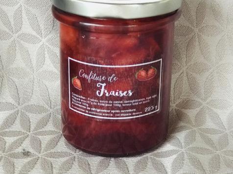 La Ferme des Prun'Elles - Confiture de fraises