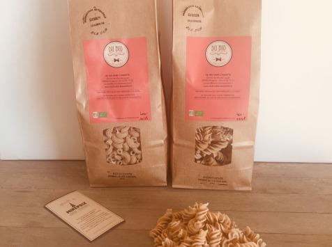 Du bio dans l'assiette - Pâtes Artisanales Blé Dur Bio 1kg