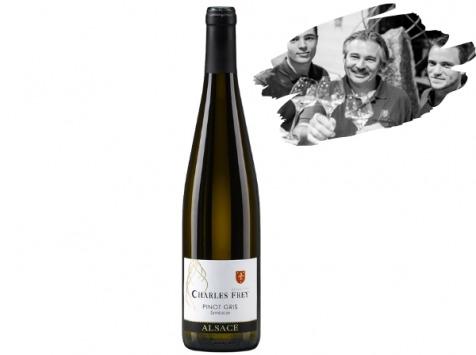 Réserve Privée - AOC Alsace Bio - Charles Frey - Pinot Gris Cuvée de l'Ours Blanc 2018