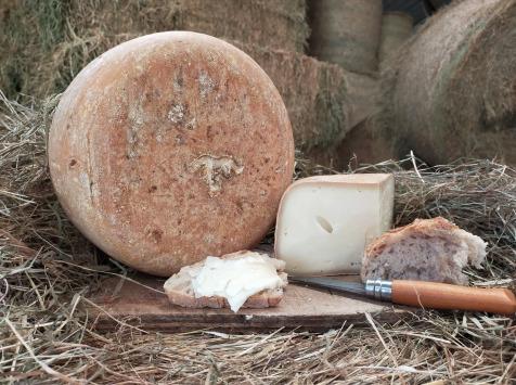 La ferme Lassalle - Fromage de brebis AOP Ossau-Iraty Fermier de Printemps - la part de 250g