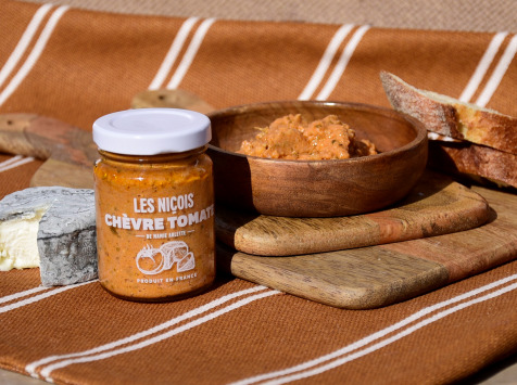 Les Niçois - Chèvre Tomate De Mamie Arlette 80g