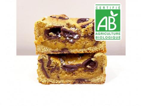 Pierre & Tim Cookies - Brookie Bio Chocolat Noir Fleur De Sel