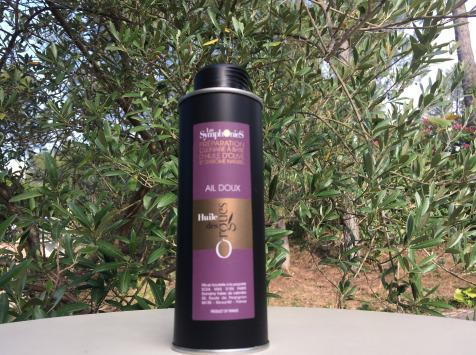 Huile des Orgues - Huile d'Olive Vierge Extra aux Notes d'Ail - 250 ml