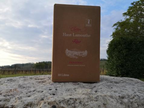 Château Haut-Lamouthe - Bib Bergerac Rosé AOC - 10 Litres