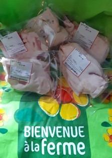 """La Ferme de Grémi - [Précommande] Gras (sans maigre)de Porc de """"Bayeux"""", élevé en plein Air intégrale"""