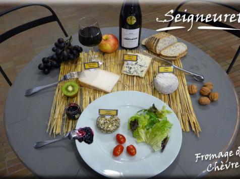 Fromagerie Seigneuret - Plateau À Fromage De Chèvre 8 Personnes