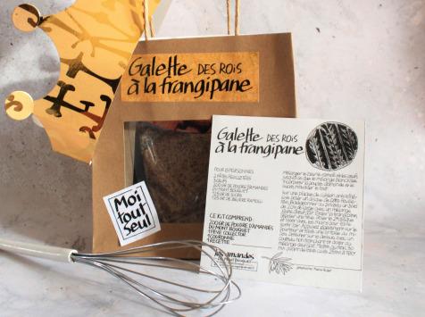 Les amandes et olives du Mont Bouquet - Kit DIY Pour Faire sa Galette des Rois à la Frangipane Soi-Même