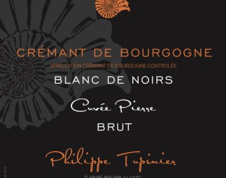 Domaine Tupinier Philippe - 3 Bouteilles De Crémant De Bourgogne Blanc De Noirs