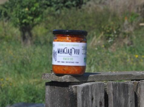 Manjar Viu : Légumes lacto fermentés - Kimchi Bio lacto-fermenté - 400 g