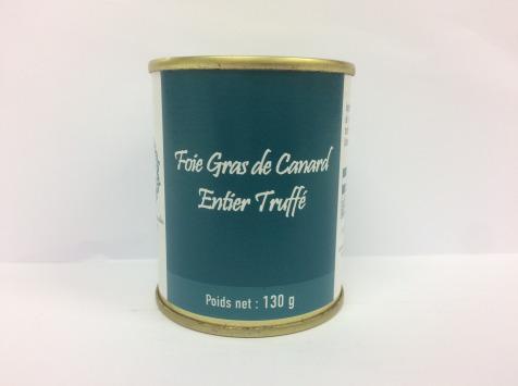 A la Truffe du Périgord - Foie Gras De Canard Entier Truffé 130g