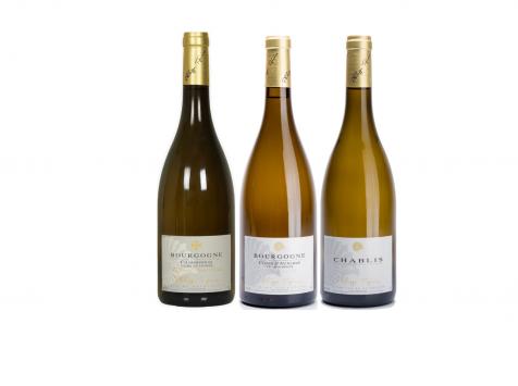 Domaine Tupinier Philippe - 1 Bouteille Bourgogne Blanc Vieilles Vignes 1 Bouteille Chablis 1 Bouteille Bourgogne Côte D'Auxerre Blanc