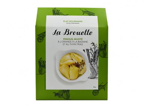La Brouette - Pour 2 Pers. - Fenouil Mijoté À L'orange À La Badiane Et Au Thym Frais