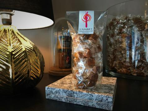 L'AMBR'1 Caramels et Gourmandises - Caramel Dégustation (mélange De 10 Parfums) - Sachet De 130g